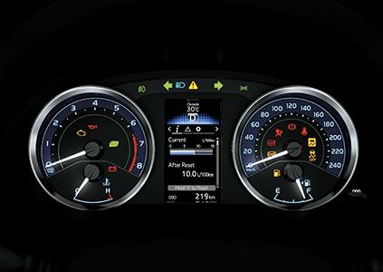 Bảng đồng hồ Tablo xe Corolla Altis 2019