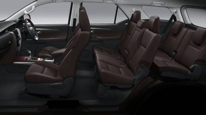 Hệ thống ghế xe Fortuner